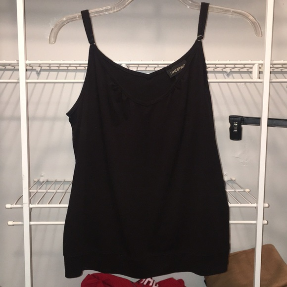 Lane Bryant Tops - Black cami with adjustable strap